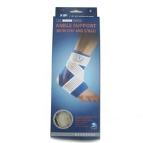 LP SUPPORT Ankle Support w/stay &strap (775) สี size M