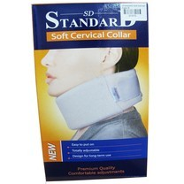 STANDARD Soft Cervical Collar สีเนื้อ size L