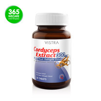 VISTRA Cordyceps Extract 300mg 30 เม็ด
