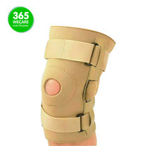 SOFT GUARDS Hinged Knee Stabilizer สีเนื้อ SIZE L