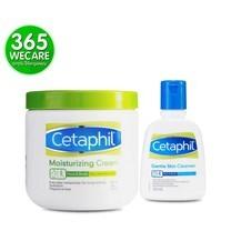 CETAPHIL Moisturizing Cream 453g. แถมฟรี Cleanser125ml. ให้ความชุ่มชื้นอย่างเข้มข้นตลอด 24 ชั่วโมง(27057) 365wemall