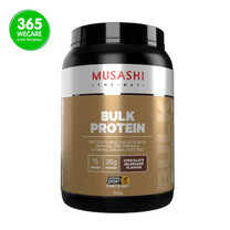MUSASHI Bulk Mass Gain Choc 900 g.