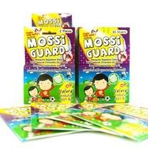 MOSSI Guard แผ่นแปะกันยุง กล่อง 30 ซอง 60 ชิ้น