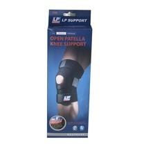 LM Knee Support(Open Patella) 758 สีดำ