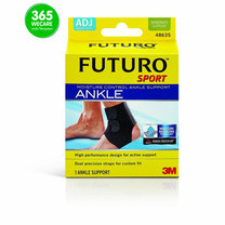 FUTURO Sport Adjustable Ankle Support ดำ1ชิ้น