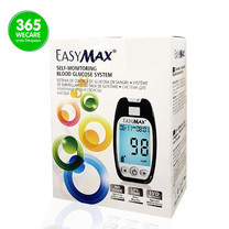 EasyMax เครื่องตรวจน้ำตาลในเลือด Glucometer รุ่น EMMU
