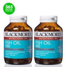 Blackmores Fish Oil 1000 mg.(2x80 เม็ด) แพ็คคู่
