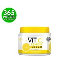 Precious Vit C Lemon Cream 200 g. เหลือง ครีมวิตามินซี บำรุงผิวหน้า เพื่อผิวกระจ่างใส ลดเลือนจุดด่างดำ (27513)365wemall