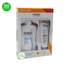 ฟิสิโอ PHYSIOGEL Daily UV Protection spf50+60ml.คู่ Cleanser 150ml.