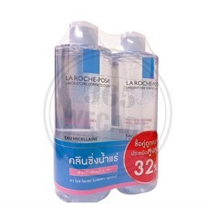 แพ็คคู่สุดคุ้ม LA ROCHE Micellaire Water Ultra Reactive 400ml. x 400ml.