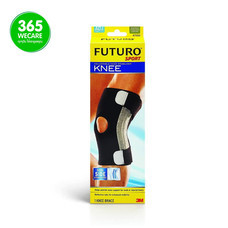 Futuro Sport Adjustable Knee Stabilizer (ปรับได้) สีดำ
