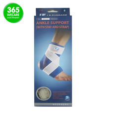LP SUPPORT Ankle Support w/stay &strap (775) สีเนื้อ  size S