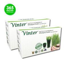 VINTER Wheatgrass Powder แพ็คคู่ 2X30ซอง