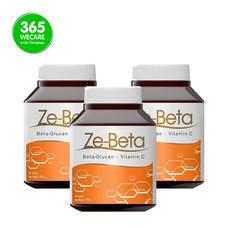 ZE-Beta เบต้ากลูแคนจากยีส แพ็ค 2 แถม 1 60+60+60เม็ด