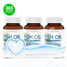 VISTRA Salmon Fish Oil 1000mg Value Pack