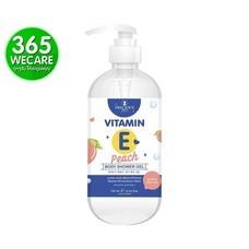Precious Vitamin E Peach Body Shower Gel 450 ml. ทำความสะอาดผิวพร้อมบำรุงอย่างล้ำลึก เติมความชุ่มชื้นให้ผิวดูเนียนนุ่ม กระจ่างใส (27465)365wemall