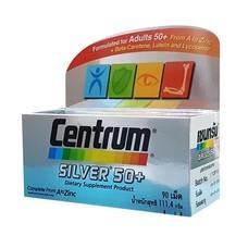 CENTRUM Silver 50+Lutine (90 เม็ด) เซ็นทรัม