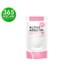 Precious Alpha Arbutin Salt Scrub 300 g. เกลือขัดผิวเนื้อละเอียด ช่วยผลัดเซลล์ผิวเก่า ไม่ทำให้ระคายเคืองผิว (27502) 365wemall