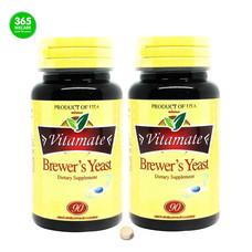 แพ็คคู่ ไวตาเมท Vitamate Brewers Yeast