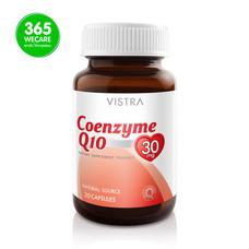 ราคาพิเศษ VISTRA Coenzyme Q10 30mg. 20Cap. ชะลอการเสื่อมของเซลล์ผิวหนัง 365wemall