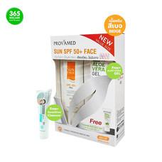 โปรวาเมด PROVAMED Sun SPF50+Face 50ml.(Beige) ฟรี Aloe Vera Gel 25g