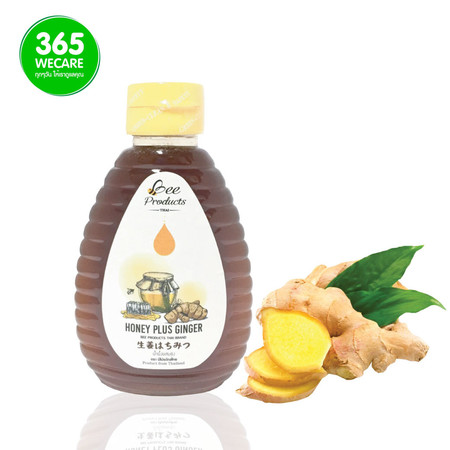 BEE Honey Plus Ginger 250ml.(น้ำผึ้งผสมขิง)