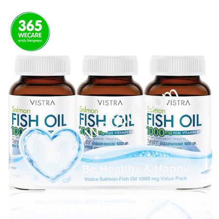 VISTRA Salmon Fish Oil 1000mg Value Pack