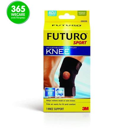 FUTURO Sport Adjustable Knee Support(ปรับได้) สีดำ 1ชิ้น