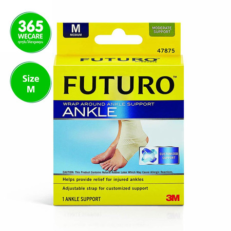 FUTURO Wrap Around Ankle (ข้อเท้า) สีเนื้อ size M