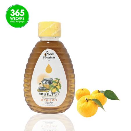 BEE Honey Plus Yuzu 250ml.(น้ำผึ้งผสมส้มยูสุ)