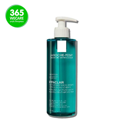 LA ROCHE Effaclar Duo Clean Micro-Peeling Gel 400 ml. เจลทำความสะอาดผิวหน้าและผิวกาย 365wemall