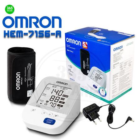 OMRON HEM-7156-A เครื่องวัดความดัน ใช้งานง่าย ผ้าพันแขนใหญ่ สะดวก แม่นยำ 365wemall