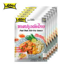 LOBO โลโบ ซอสปรุงผัดไทย ขนาด 120 กรัม (แพ็ค 6 ซอง)