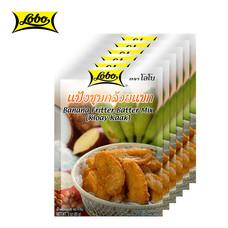 LOBO โลโบ แป้งชุบกล้วยแขก ขนาด 85 กรัม (แพ็ค 6 ซอง)