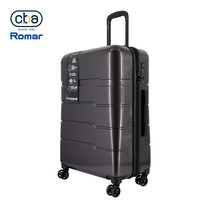 CBABAG กระเป๋าเดินทาง ขนาด 26 นิ้ว รุ่น Nano - Black