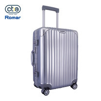 CBABAG กระเป๋าเดินทาง ขนาด 26 นิ้ว รุ่น Vivo - Silver