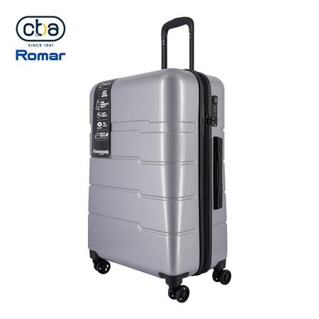 CBABAG กระเป๋าเดินทาง ขนาด 26 นิ้ว รุ่น Nano - Silver