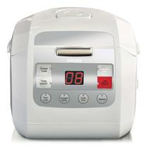 Philips หม้อหุงข้าวดิจิตอล รุ่น HD3030 ความจุ 1 ลิตร - สีขาว
