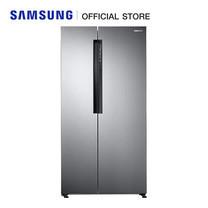 Samsung ตู้เย็น Side by Side RS62K60A7SL/ST พร้อมด้วย Twin Cooling (659L/23.8Q)