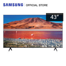 Samsung Crystal UHD 4K Smart TV UA43TU7000KXXT ขนาด 43 Inch