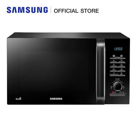 Samsung เตาอบไมโครเวฟ (อุ่น) 1000 วัตต์ รุ่น MS28H5125BK/ST (28 ลิตร)