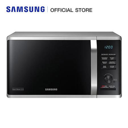 Samsung เตาอบไมโครเวฟ (อุ่น/ย่าง) 800 วัตต์ รุ่น MG23K3575AS/ST (23 ลิตร)