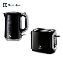 Electrolux กาต้มน้ำ ขนาด 1.7 ลิตร รุ่น EEK3505 + Electrolux เครื่องปิ้งขนมปัง รุ่น ETS3505 (Black)