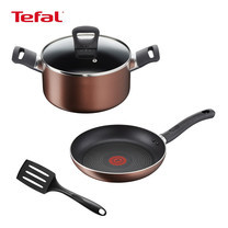 Tefal เซ็ตเครื่องครัว 4 ชิ้น รุ่น Super Cook Plus (Set 1)