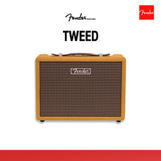 FENDER ลำโพง Monterey Tweed Bluetooth Speaker - Yellow Mustard
