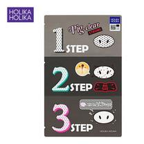 HOLOKA HOLIKA PIG NOSE CLEAR BLACK HEAD 3-Step Kit (Strong)