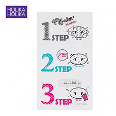 HOLOKA HOLIKA PIG NOSE CLEAR BLACK HEAD 3-Step Kit (No water)