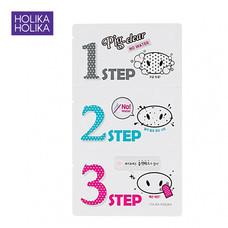 HOLOKA HOLIKA PIG NOSE CLEAR BLACK HEAD 3-Step Kit (No water)