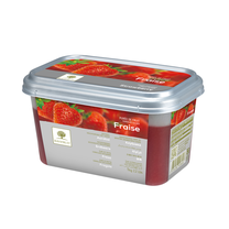 Ravifruit FZ Puree Strawberry (sweetened 10%) 1kg. (Imported)