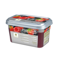 Ravifruit FZ Puree Fruit of the forest & Red fruit 1kg.